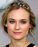 Diane Kruger with Headband