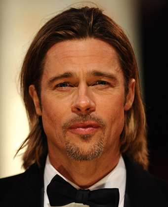 Brad Pitt's Long Haircut