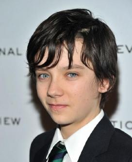Asa Butterfield hairstyles