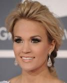 Carrie Underwood's Romantic Low Chignon