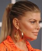 Fergie's Sleek High Ponytail