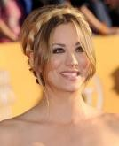 Kaley Cuoco's Romantic Halo Braid Hairstyle