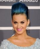 Katy Perry's Edgy Voluminous Updo