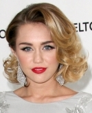 Miley Cyrus' Retro Curls