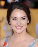 Shailene Woodley's Low Ponytail