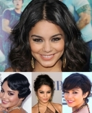 6 Ways To Style Short Haircut, As Modeled By Vanessa Hudgens
