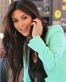 Kim Kardashian's Long Loose Wavy Hairstyle