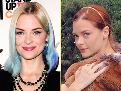 Jaime King red hair 2012