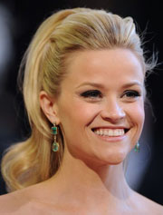 reese witherspoon ponytail hairstyle
