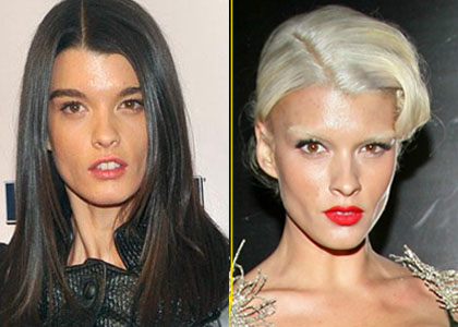 Crystal Renn's New Hair Colour!