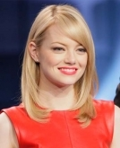 Emma Stone's Long Blonde Hairstyle