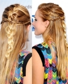 How to Create Kristen Bell's Intricate Braids at Home