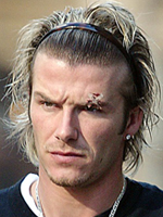 David Beckham's hairstyle, men haircut