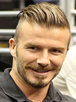 David Beckham's hairstyle, men haircut, undercuts