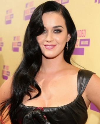 Katy Perry's long-length sexy curls