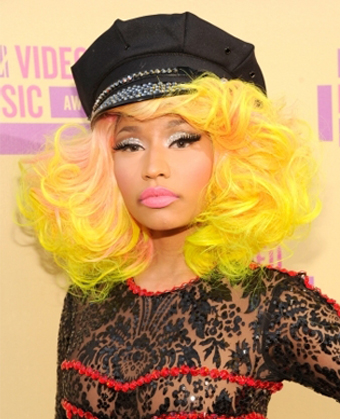 Nicki Minaj's voluminous curls