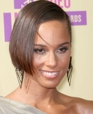 Alicia Keys's bob haircut