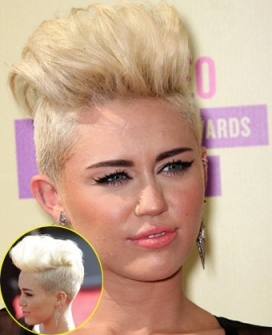 Miley Cirus hairstyles