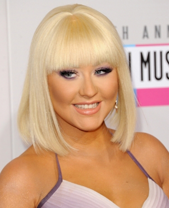 Christina Aguilera Rocks New Bob Haircut