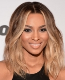 Ciara's Medium Wavy Hairstyle