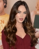 Megan Foxs Glossy Wavy Hairstyle