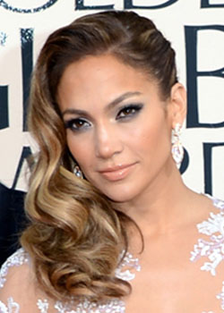J. Lo best hairstyle of the Golden Globes 2013