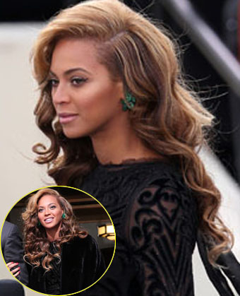 Beyonce Knowles' Wavy Hairstyle