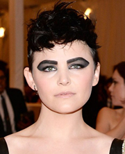 Ginnifer's punk do
