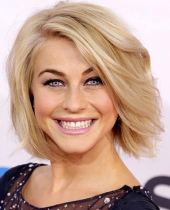 Julianne Hough's Classic Bob Haircut