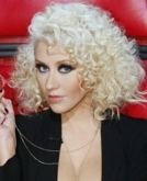 Christina Aguilera's tight curls