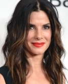 Sandra Bullock's beachy waves