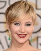 Jennifer Lawrence's textured pixie