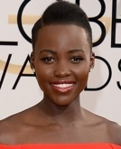 Lupita Nyong's  pixie with a side parting