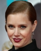 Amy Adams's slick side bun
