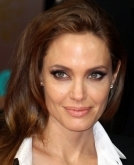 Angelina Jolie's long feminine do