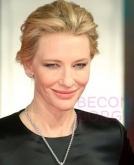 Cate Banchett glamorous up-do