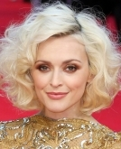 Fearne Cotton's voluminous lob