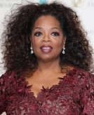 Oprah Winfrey's mass of curls
