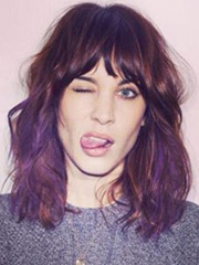 Hipsters' orchid: Alexa Chung