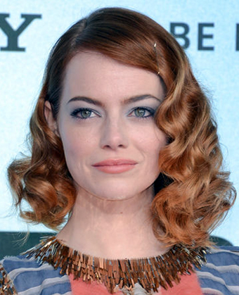 Emma Stone's soft waves