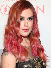 Rummer Willis copper and pink