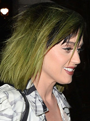 Katy Perry's slime green