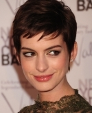 How to grow out your pixie in style, modelled by Anne Hathaway