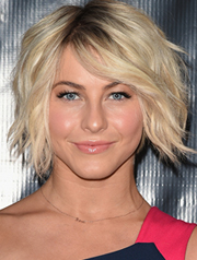 Julianne Hough's well textured wob