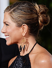 Best updo – Jennifer Aniston