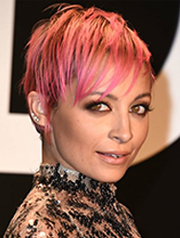 Nicle Richie pixie haircut 2015