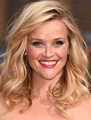 Reese's Witherspoon's wind-swept curls
