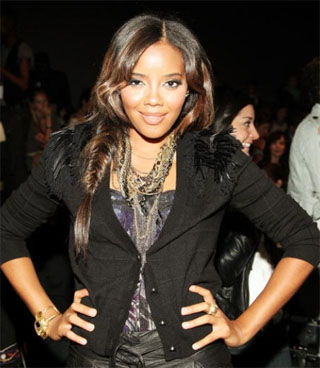 Angela Simmons's Side Fishtail Braid Hairstyle