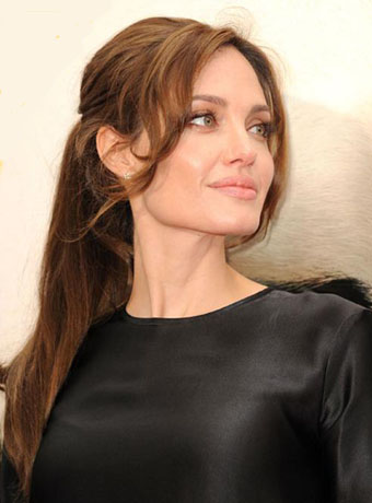 Angelina Jolie S Sexy Ponytail Hairstyle