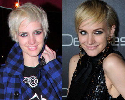 Ashlee Simpson's New Platinum Locks: Love It or Hate it?